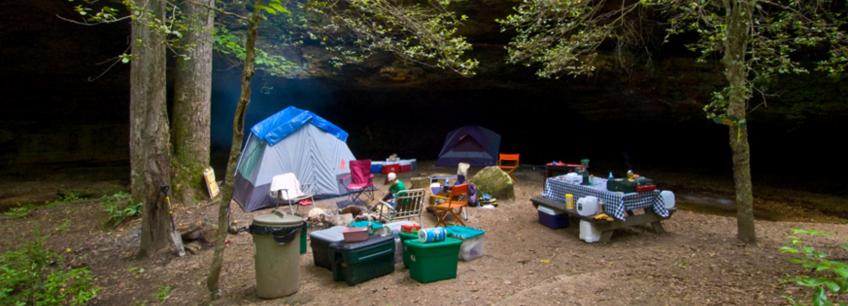 Campsite Chores for Kids