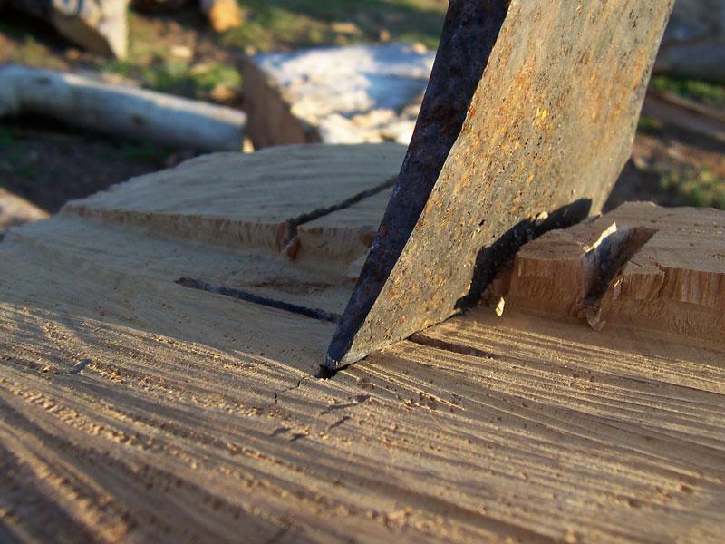 Tools for Splitting Wood