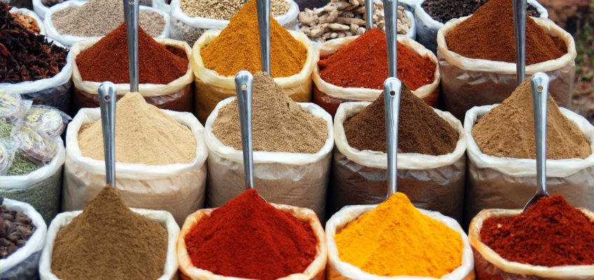Get Healthy with the Right Spices