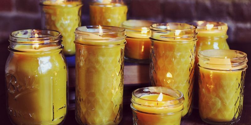 DIY Beeswax Candles (Video)