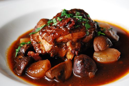 Slow Cooker Coq Au Vin (How to Cook a Rooster)