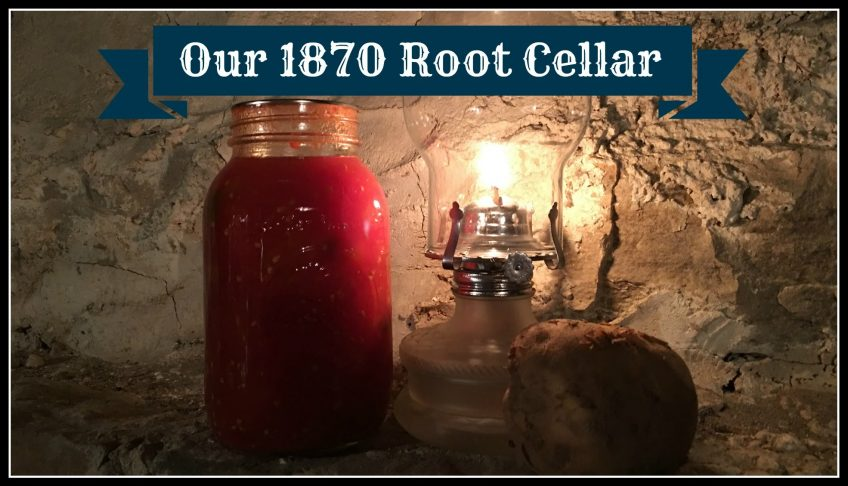 A 1870s Root Cellar (Video)