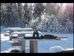 Shooting at Homestead Shooting Range in Kananaskis (Video)