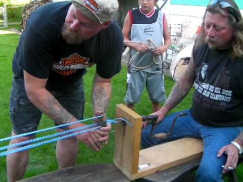 Rope Making (Video)