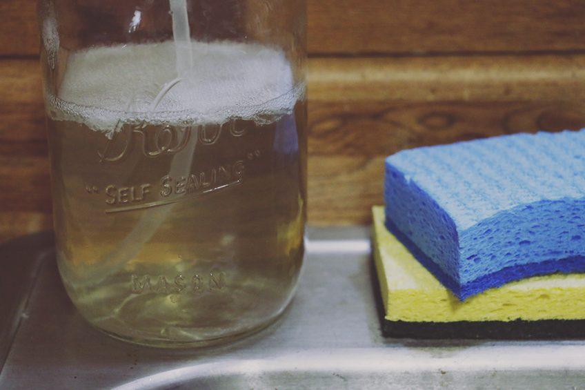 Homemade Dish Soap Recipe