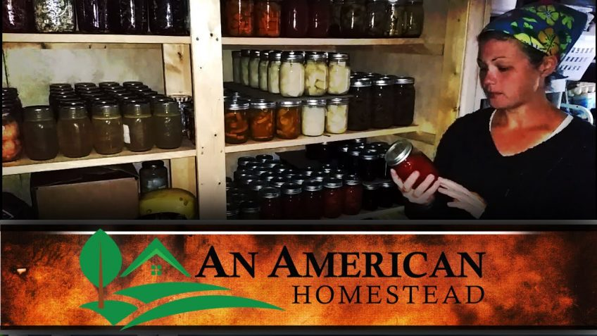 The Off-Grid Winter Pantry (Video)