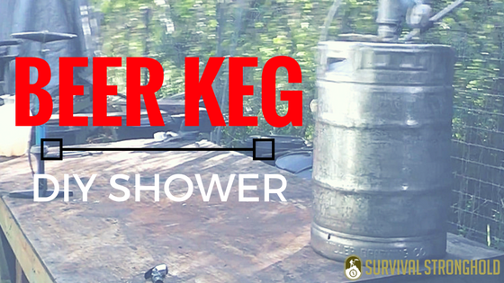 Beer Keg Portable Hot Shower (Video)