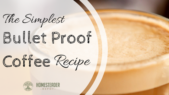 Simplest Bulletproof Coffee Recipe