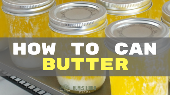 How to Can Butter (Yes, Really!)