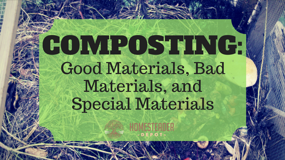 Composting: Good Materials, Bad Materials, and Special Materials (Infographic)