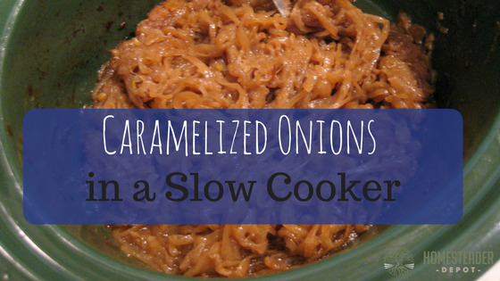 How To Make Caramelized Onions in a Slow Cooker