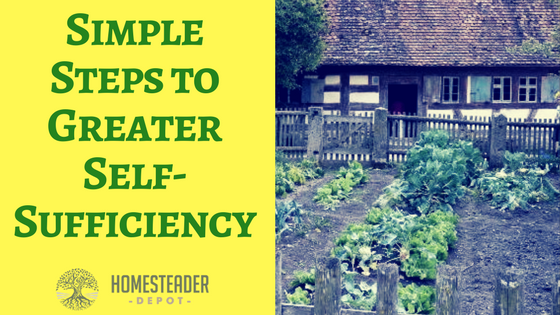 Simple Steps to Greater Self-Sufficiency