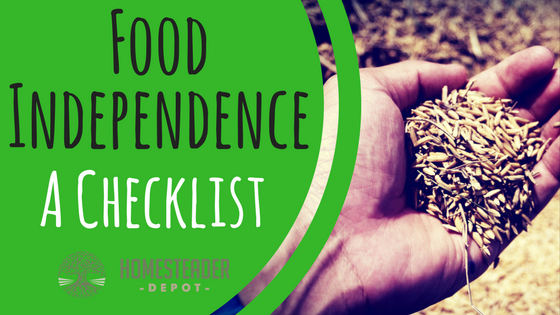 18 Ways to Become Food Independent