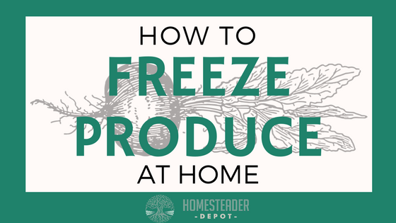 Tips for Freezing Produce at Home (Infographic)