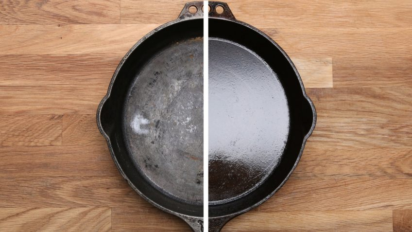 How to Cook With And Season Cast Iron (Video)