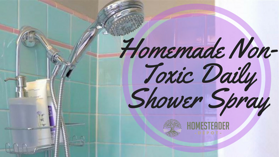 Homemade Non-Toxic Daily Shower Spray