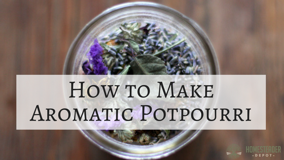How to Make Aromatic Potpourri