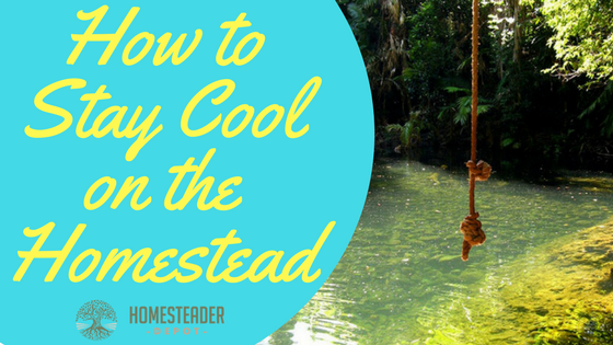 How to  Stay Cool on the Homestead