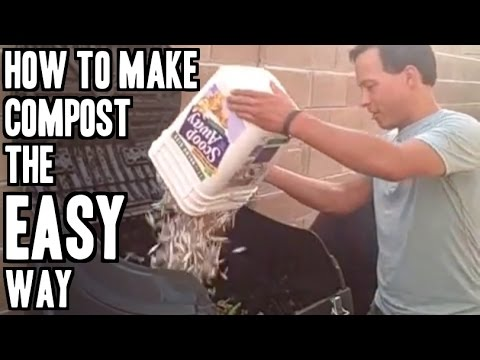 How to Make Compost the Easy Way (Video)