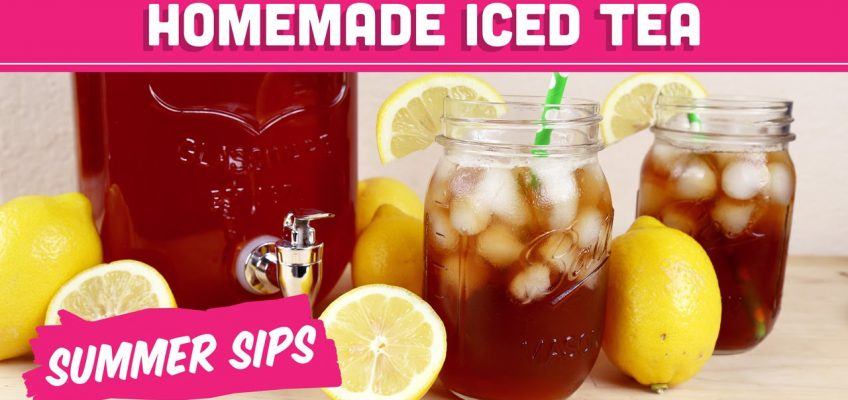 Healthy Sweet Tea (Video)