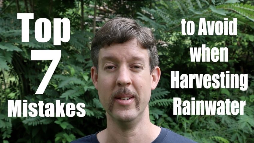 Top 7 Mistakes to Avoid When Harvesting Rainwater (Video)