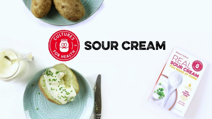 How to Make Sour Cream (Video)