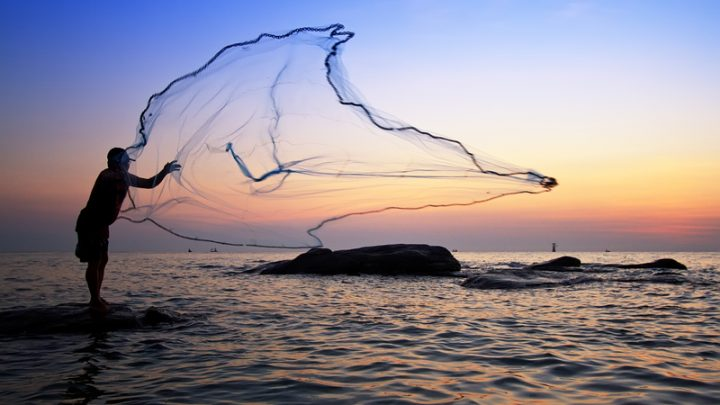 Super Simple DIY Fishing Net