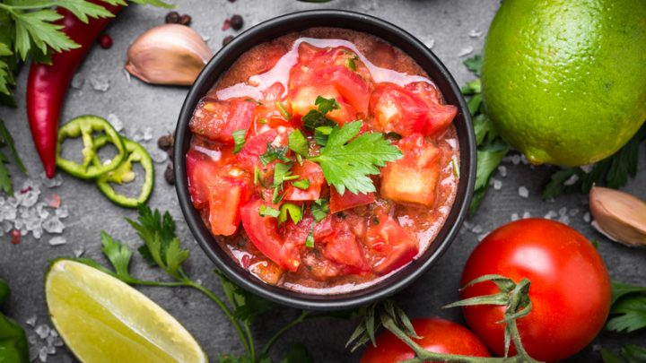 Simple 5 Step Homemade Salsa Recipe