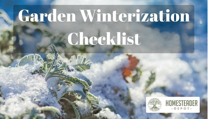 Easy Checklist to Winterize Your Garden