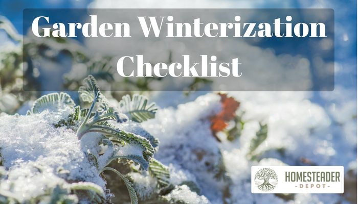 Easy Checklist to Winterize Your Garden