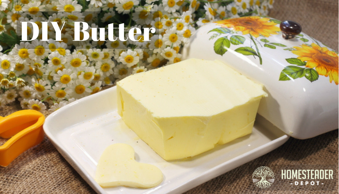 DIY Delicious Homemade Butter