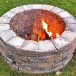 How to Build a Bonfire Pit (Video)