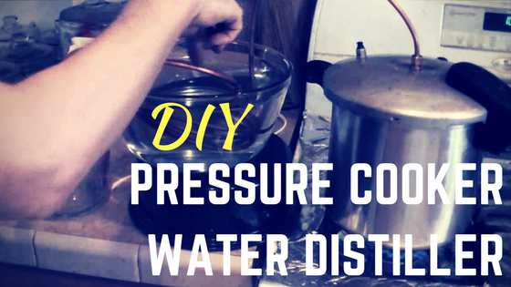 Home Depot Water Distiller ~ Diy pressure cooker water distiller video homesteader