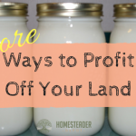 More Ways to Profit Off Your Land