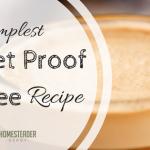 Simplest Bulletproof Coffee Recipe