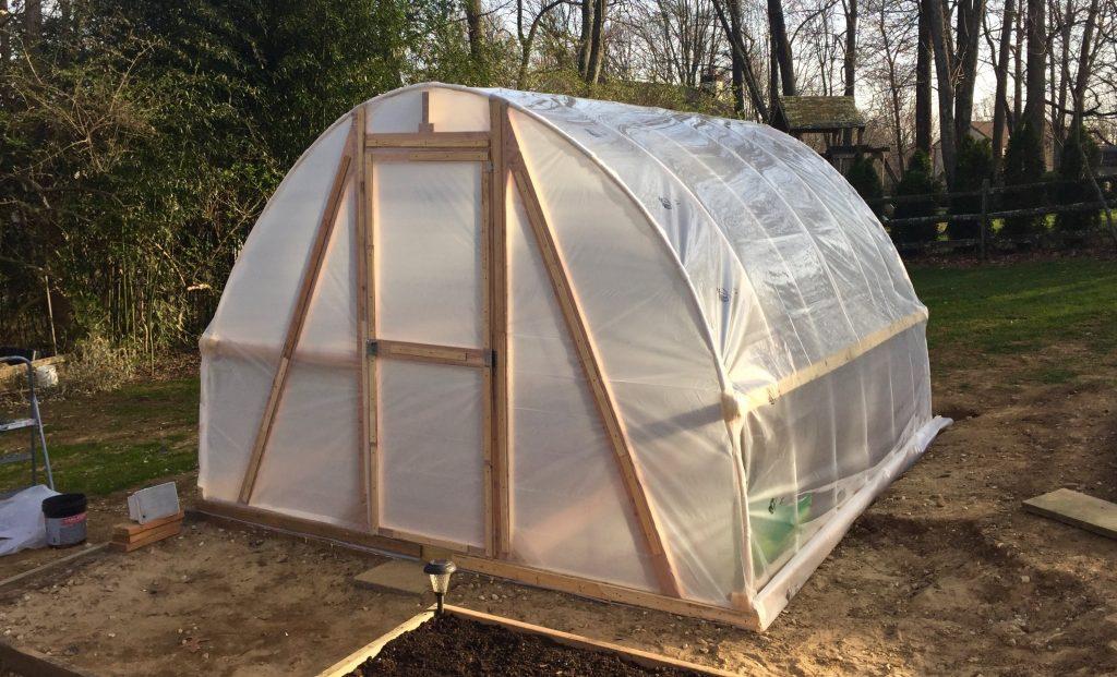 DIY PVC Hoop Greenhouse (Video) - Homesteader ...