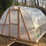 DIY PVC Hoop Greenhouse (Video)