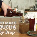 How to Make Kombucha Tea (Video)