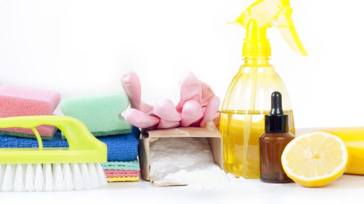 Avoid Using Harsh Chemicals with These 6 Homemade Cleaners